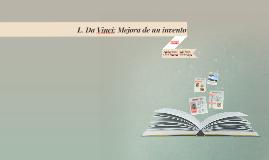 L. Da Vinci: INVENTOS