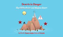 Copy of deserts in danger