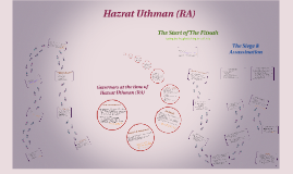 Copy of Hazrat Uthman (RA)
