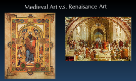 middle ages vs renaissance
