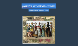 Josiah's American Dream (English)