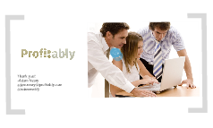 Profitably--Founder Institute pitch