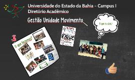 Copy of I Assembleia Geral Extraordinário D.A. Unidade Movimento