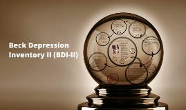 Beck Depression Inventory II- BDI-II