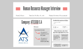 Human Resource Manager Interview