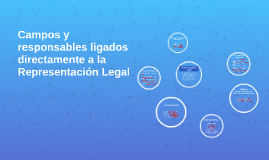 Campos y responsables ligados a la Representación Legal