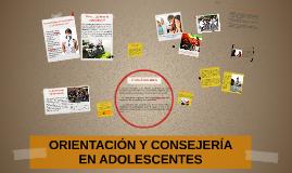 Orientación y consejería en adolescentes