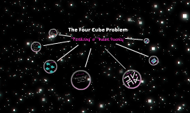 Four Cubes Problem