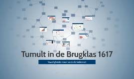 Tumult in de Brugklas