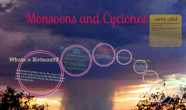 Monsoons and Cyclones