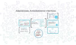 Adquisiciones, Arrendamientos y Servicios