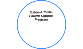 Osteo-Arthritis Patient Support Program