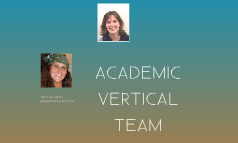 Academic Vertical Team