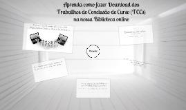 Tutorial - Aprenda como fazer download dos TCCs na nossa Biblioteca Online