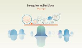 Irregular adjective