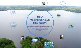 USO RESPONSABLE DEL AGUA Y LAS REDES SANITARIAS