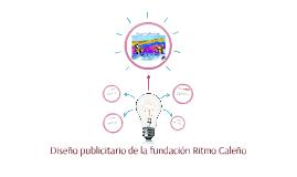 Diseño publicitario de la fundación Ritmo Caleño