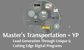 Master's Transportation + YP - Lead Generation Experts