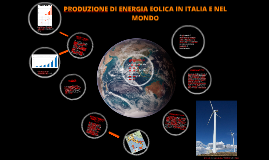 Copy of PRODUZIONE DI ENERGIA EOLICA IN ITALIA E NEL MONDO