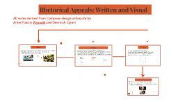 Rhetorical Appeals: Written and Visual