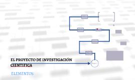 Copy of EL PROYECTO DE INVESTIGACIÓ CIENTIFICA