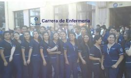 Carrera de Enfermería.