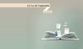 La Ley de Expancion