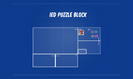 IED puzzle block