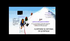 Copy of El enfoque de sistemas en la empresa