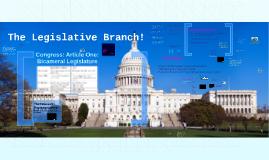 The Legislative Branch!