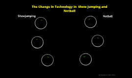 The Change in Technology in  Show Jumping and Netball