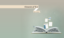 Elements of Text