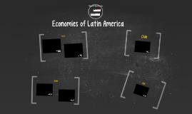 Economies of Latin America