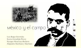 México y el campo