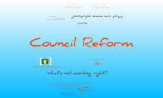 SUS Council reform