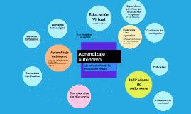 Aprendizaje Autónomo: Eje articulador de la educación virtual