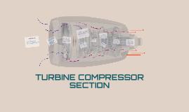TURBINE COMPRESSOR SECTION
