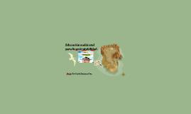 Educación ambiental para la sustentabilidad.