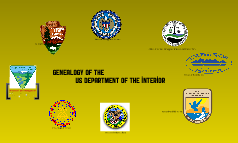 Genealogy of the Department of the Interior