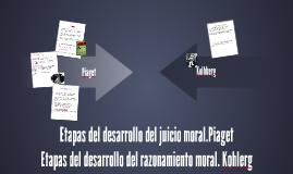 Etapas del desarrollo del juicio moral.Piaget