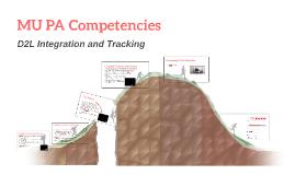 MU PA Competencies