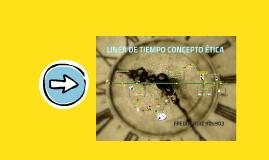 LÍNEA DEL TIEMPO EVOLUCIÓN HISTÓRICA DEL CONCEPTO