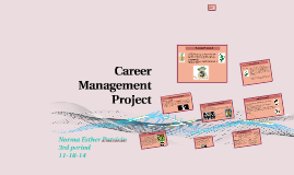 career management project