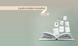Copy of Digital storytelling