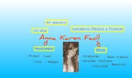 ¿Quién es Anna Karen Fadl?