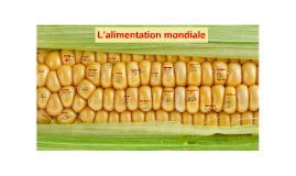 Copy of L'alimentation mondiale