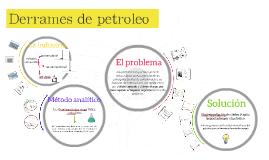 Derrames de petroleo