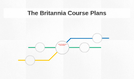 The Britannia Course Plans