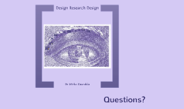 Design Research Design 2015