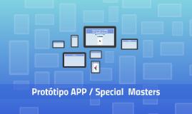 Apresentação Protótipo - APP